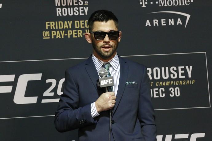 Dominick Cruz; UFC 207, pós-luta (Foto: Evelyn Rodrigues)