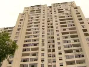 Antiga sede do Flamengo foi ocupada (Foto: Reprodução / Globo)