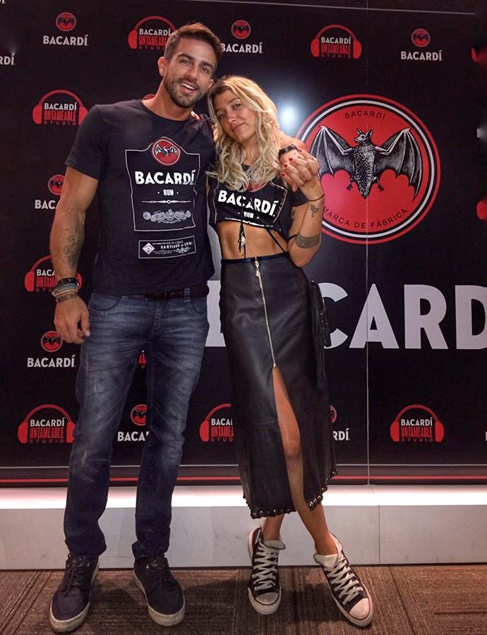Erasmo Viana e Gabriela Pugliesi (Foto: Arquivo Pessoal)
