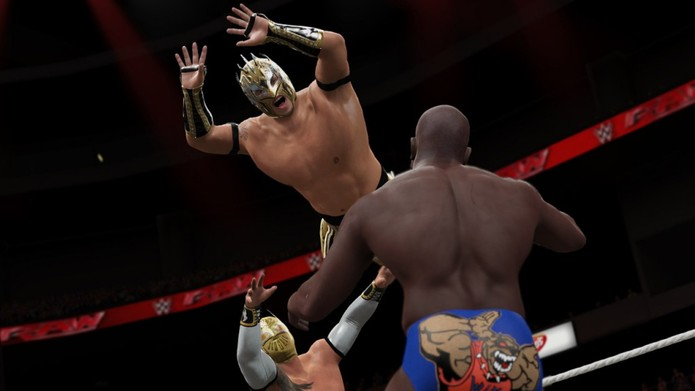 Aprenda a fazer os golpes mais espetaculares de WWE 2K16  (Foto: Divulgação/2K Games)