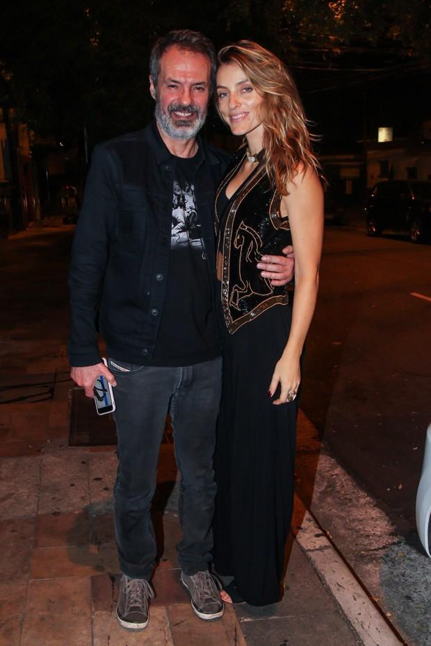 Ricardo Waddington e Marina Sanvicente (Foto: Manuela Scarpa/Brazil News)