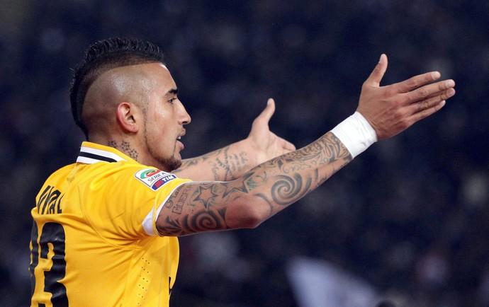 Vidal gol Juventus (Foto: EFE)