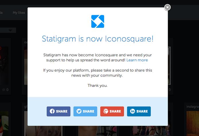 O Iconosquare permite ver todas as fotos que o usuário curtiu (Reprodução/Iconosquare)