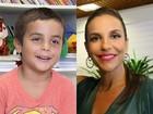 Ivete Sangalo afasta futuro musical para filho: 'Muito pequenininho ainda'