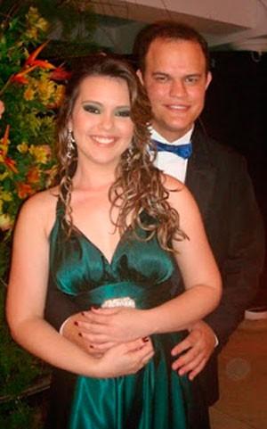 Fábio Brito e Paula Vanessa morreram no acidente  (Foto: Wandilson Ramalho)
