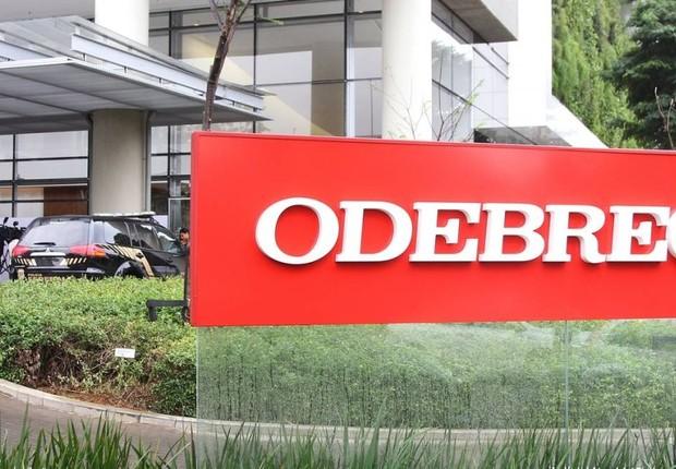 Sede da construtora Odebrecht na zona oeste de São Paulo (Foto: Michel Filho/O Globo/Arquivo)