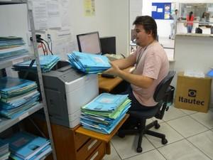 Desafio do balde de gelo beneficia instituições assistenciais de Cacoal, RO (Foto: Magda Oliveira/G1)
