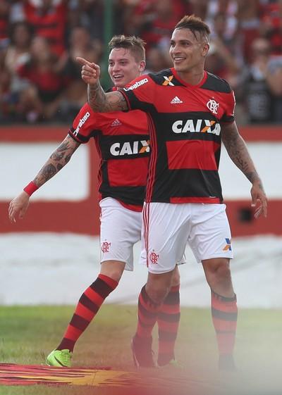 Guerrero, Flamengo, Flamengo x Nova Iguaçu (Foto: Gilvan de Souza/Flamengo)