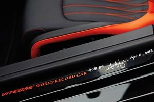 Bugatti Veyron Grand Sport Vitesse recordista de velocidade (Foto: Motor Trend)