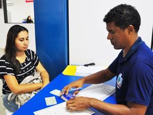 É cobrado na inscrição certidão de nascimento ou RG, CPF em situação regular, NIS , título de eleitor e comprovante de escolaridade (Foto: Vanivaldo Ferreira/Secom-PB)