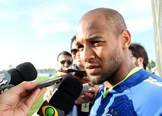 Fellipe Bastos, volante do Grêmio (Foto: Diego Guichard/GloboEsporte.com)