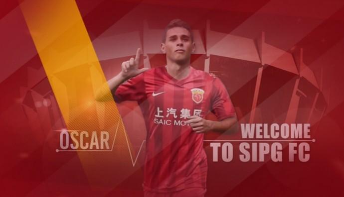 Oscar Shanghai SIPG (Foto: Divulgação)