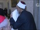 Papa e grande imã Ahmed al-Tayeb fazem reunião histórica no Vaticano