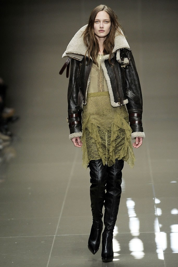Burberry inverno 2011 (Foto: Getty Images)