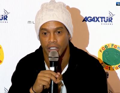 Ronaldinho Gaúcho (Foto: Reprodução/SporTV)