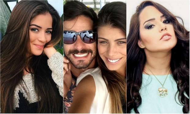 Anna Rita Cerqueira, Diego e Fran Grossi e Perlla (Foto: Reprodução / Instagram)