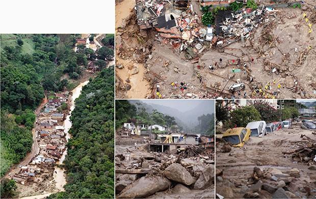 Brasil;Ciência;Insights;chuvas;região serrana do Rio; (Foto: Agência O Globo; Folhapress; AP Photo)