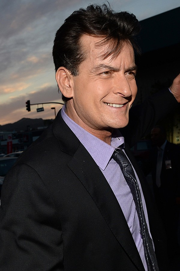 Charlie Sheen - 3 de setembro (Foto: Getty Images)
