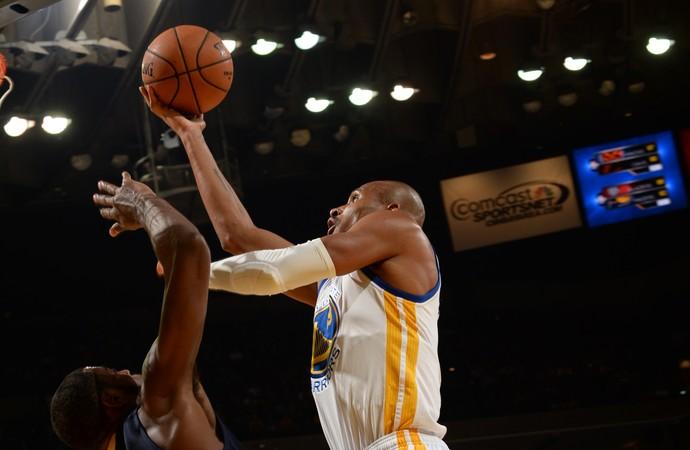 Leandrinho Warriors x Pelicans NBA (Foto: Getty)