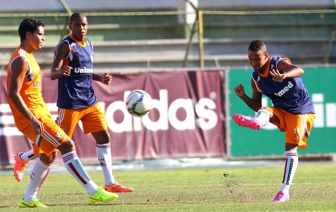 Biro Biro treino fluminense (Foto: Nelson Perez / Fluminense FC)
