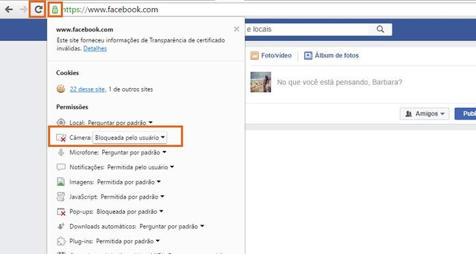 Atualize a página do Facebook para aplicar as mudanças (Foto: Reprodução/Barbara Mannara)