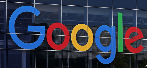 Logo do Google é visto na sede da empresa na Califórnia (Foto: Justin Sullivan/Getty Images)