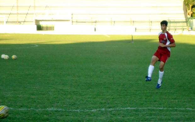 Luiz, jogador do Sub-15 do São Bento (Foto: Benjamim Pesce/Globoesporte.com)