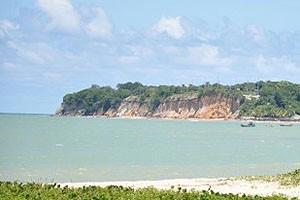 Falésia na praia do Cabo Branco receberá obra de contenção (Foto: Divulgação/Secom-PB)