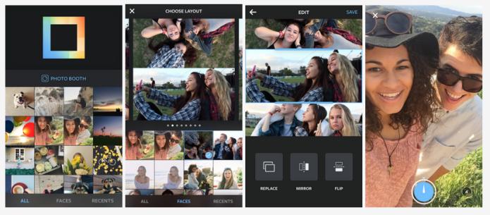 Layout: o app de montagem de fotos do Instagram (Foto: Reprodução/Edivaldo Brito)