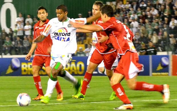 Bruno Rangel jogo Chapecoense contra Boa Esporte (Foto: Junior Matiello / Agência Estado)