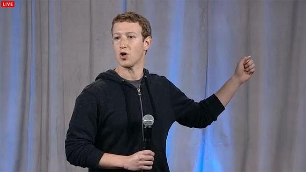 Mark Zuckerberg anuncia a nova interface 'Home' do Facebook. (Foto: Reprodução/Facebook)