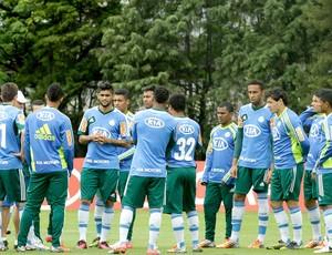 Gilson Kleina, treino Palmeiras grupo (Foto: Luis Moura / Agência Estado)