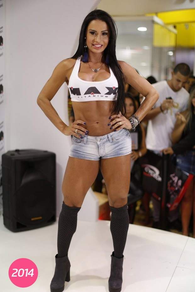 Gracyanne Barbosa em foto de 2015 (Foto: Isac Luz/Ego)