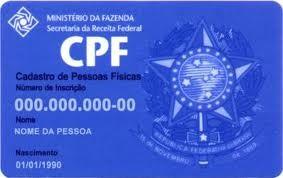 CPF (Foto: Divulgação)