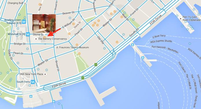 Acessando a visualização de um local no Google Street View (Foto: Reprodução/Marvin Costa)