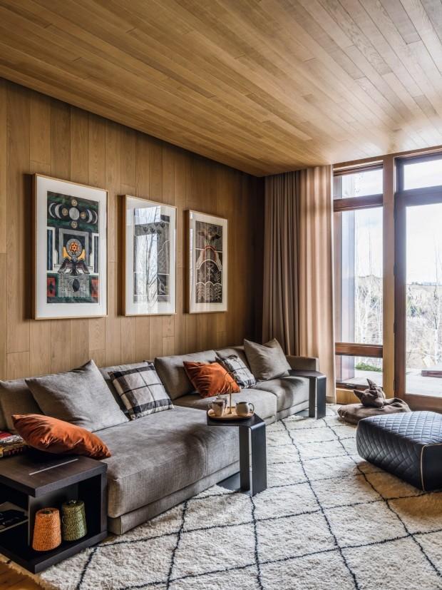 Casa em Aspen é o refúgio perfeito para esquiar em família (Foto: Fran Parente)