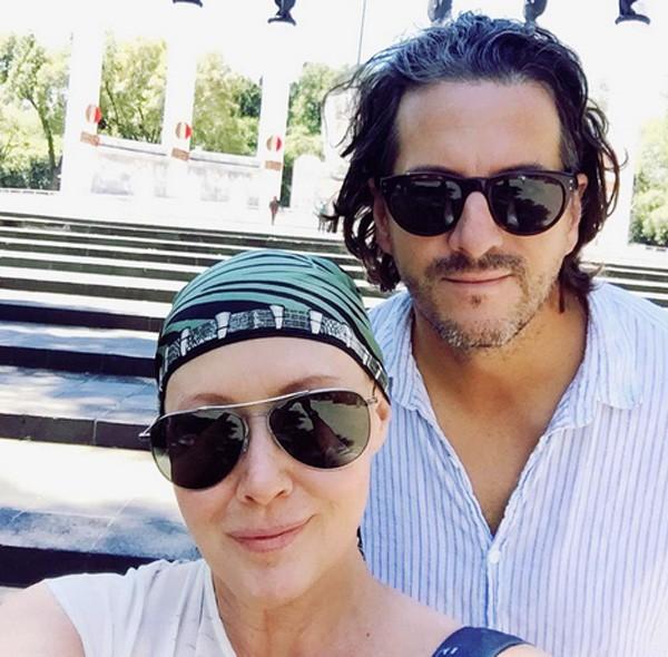 Shannen Doherty e Kurt Iswarienko (Foto: Instagram)