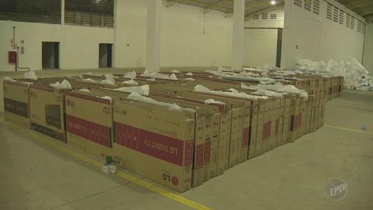 Polícia recupera carga roubada de TVs avaliada em R$ 1 milhão em SP