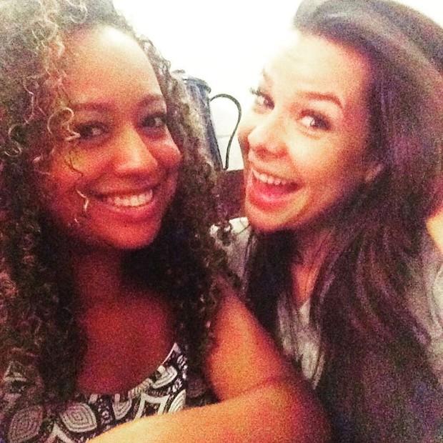 Aretha Oliveira e Fernanda Souza (Foto: Reprodução/Instagram)