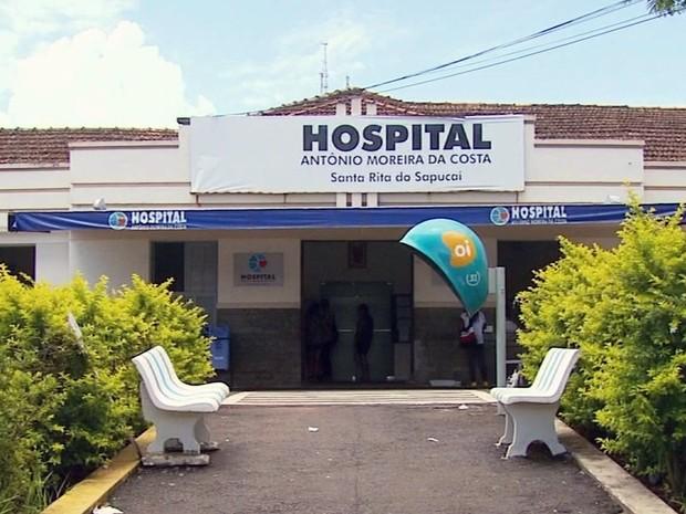 Segundo hospital de Santa Rita do Sapucaí, cota do ano para radiografias foi extrapolada. (Foto: Reprodução EPTV)