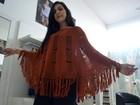 Casacos, capas e ponchos ditam moda (Daniela Ayres/ G1)