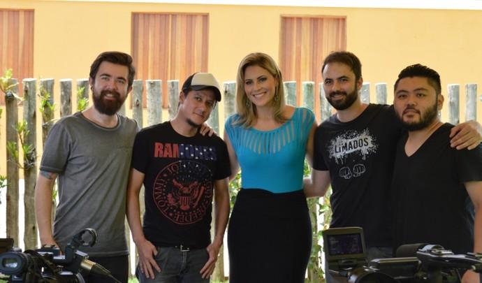Banda Limados volta ao Mais Diário  (Foto: Reprodução / TV Diário )