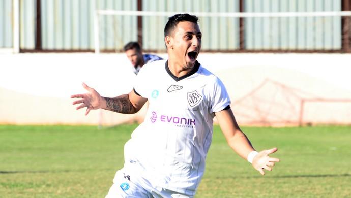 Rio Branco-SP x União Barbarense Copa Paulista Wallace (Foto: Sanderson Barbarini / Foco no Esporte)