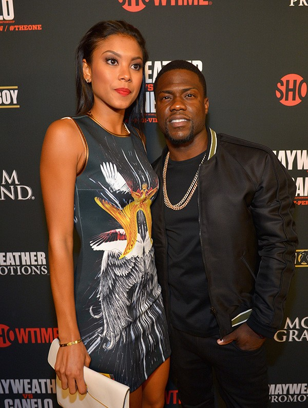 Kevin Hart e Torrei Hart (Foto: Getty Images)