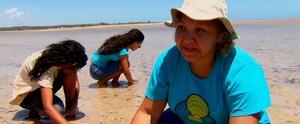 Conheça as catadoras de mariscos de Goiana (Reprodução/TV Globo)