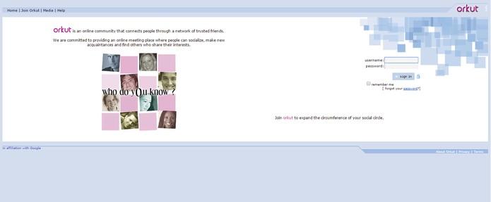 Orkut foi desativado em 2014 (Foto: Reprodução/Internet Archive)