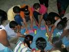 Voluntários fazem ação  socioeducativa em município do RN