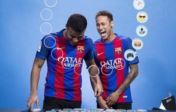 BLOG: Neymar e Rafinha descrevem elenco do Barcelona com emojis: confira
