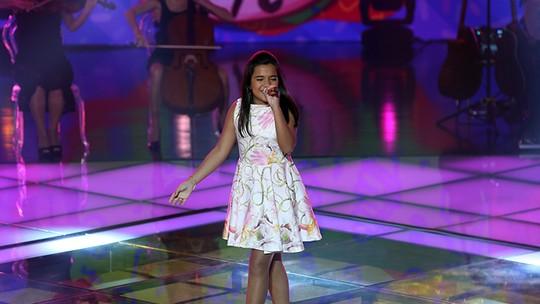 Maria Alice agradece oportunidade após se despedir do 'The Voice Kids': 'Está abrindo muitas portas'