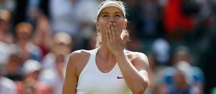 Tênis Maria Sharapova Wimbledon (Foto: Agência Reuters)